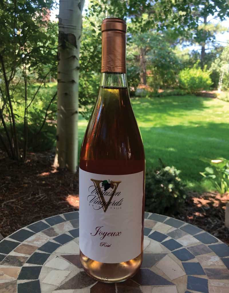 Varaison Vineyards and Winery rose