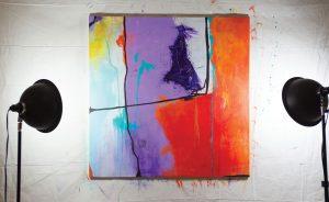 Geri deGruy spotlight painting