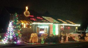 Keith Smith holiday lighting display