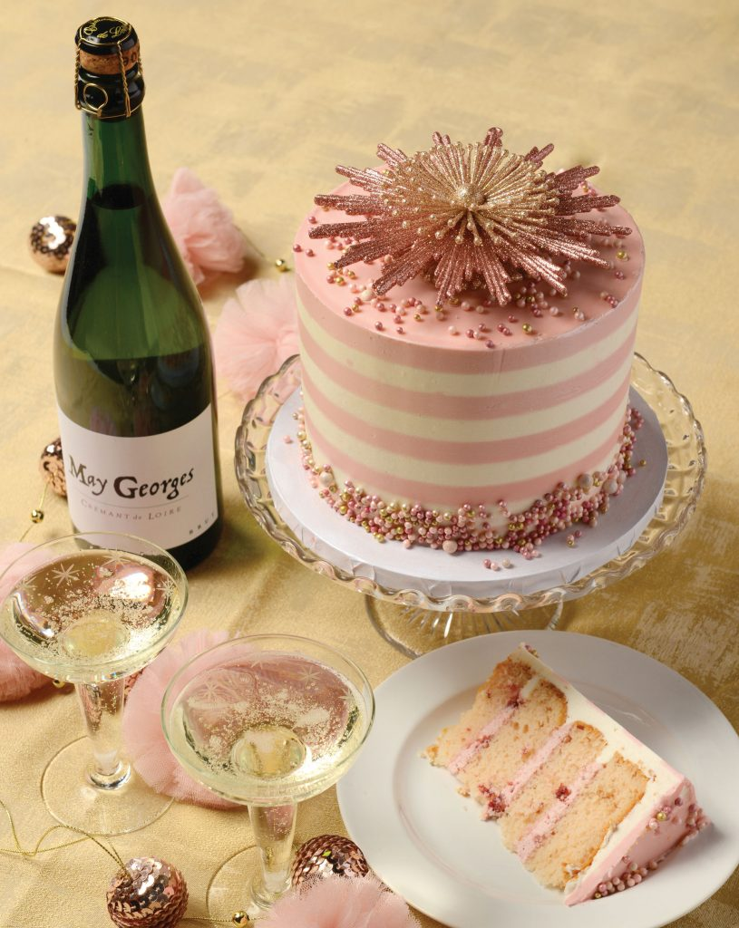 The Makery Cake Company's Pink Champagne cake