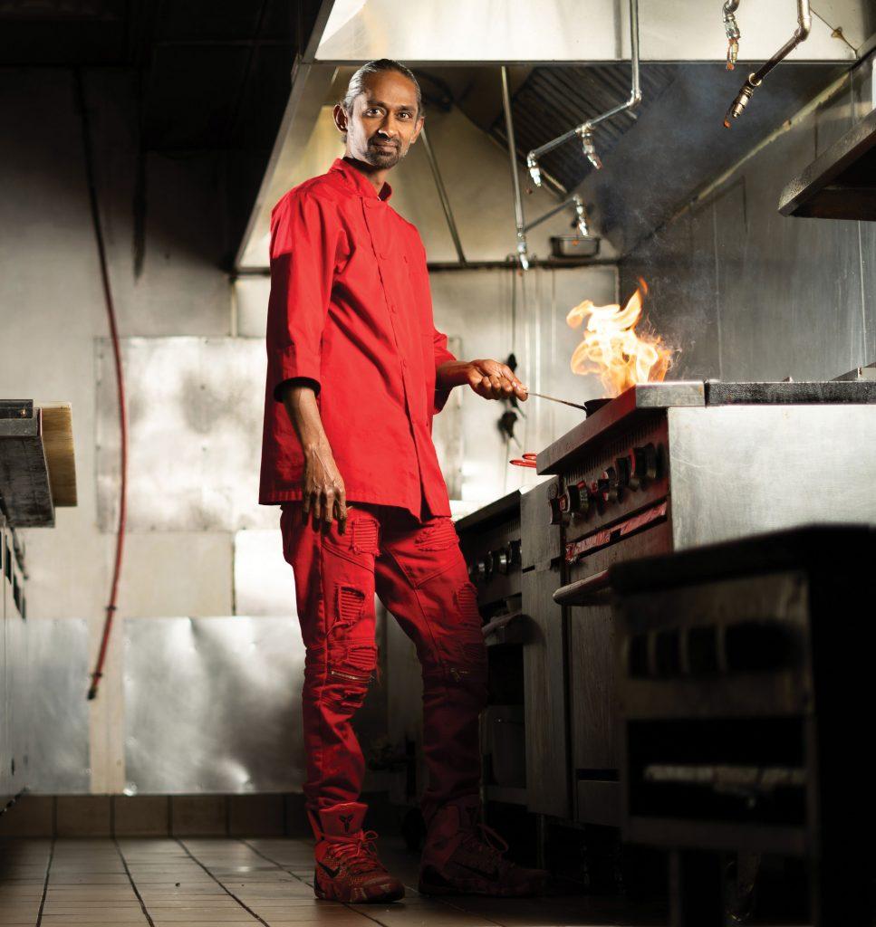 Charles Mani, executive chef at Urban Village