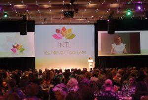 Lisa Cook speaking at Lotus Network event