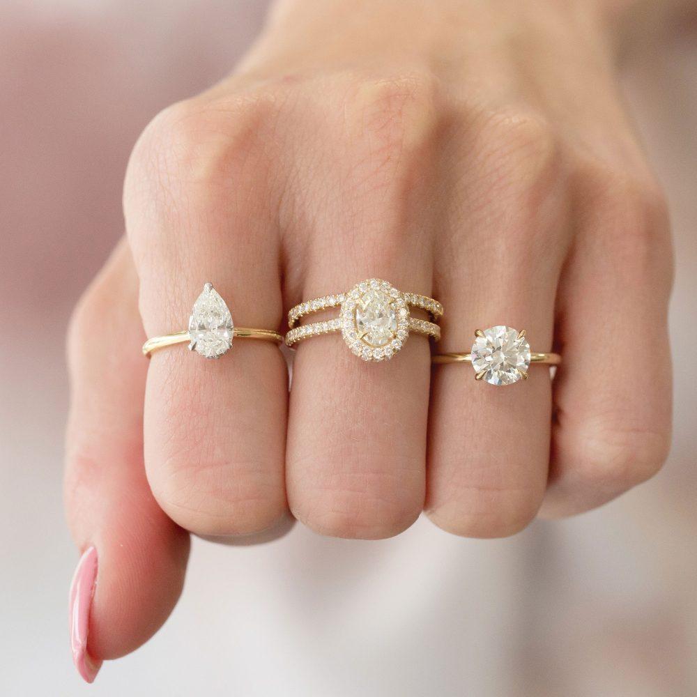 The Diamond Reserve rings