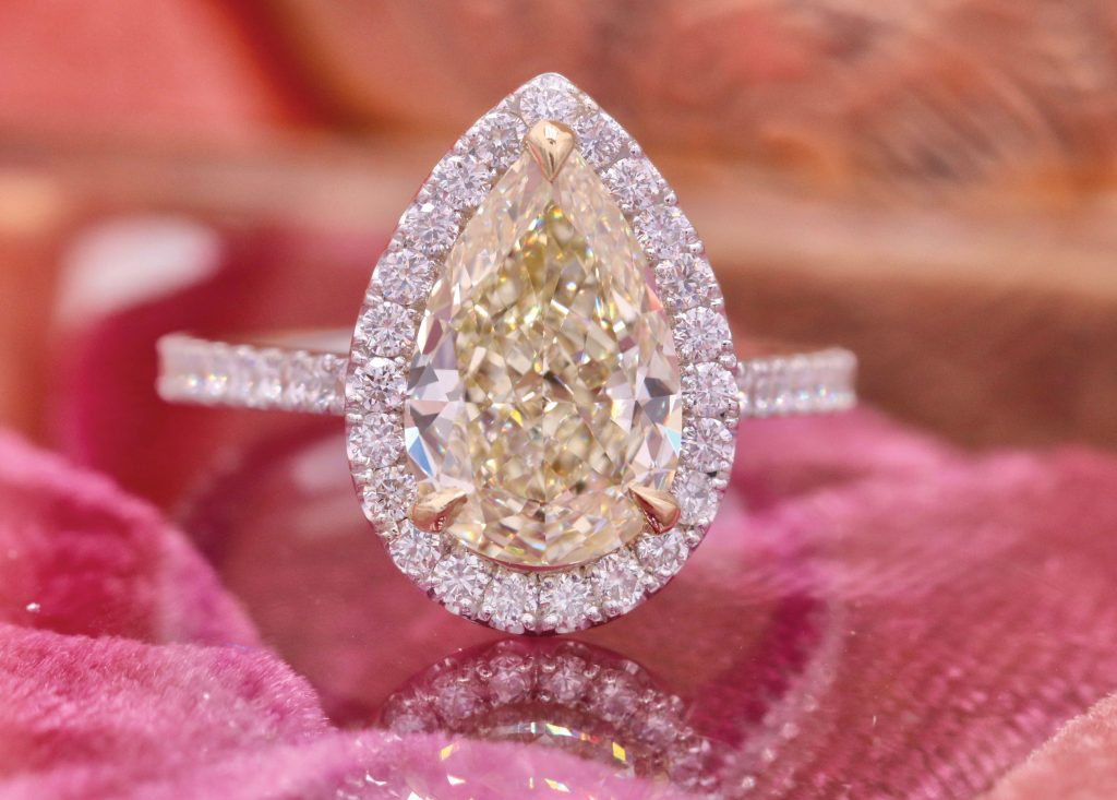 The Diamond Reserve engagement ring