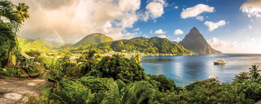 St. Lucia's Pitons