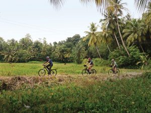 Sri Lanka bike ride