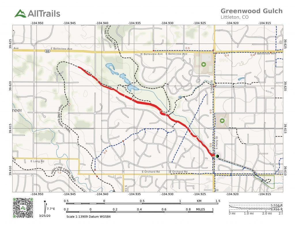 Greenwood Gulch Trail
