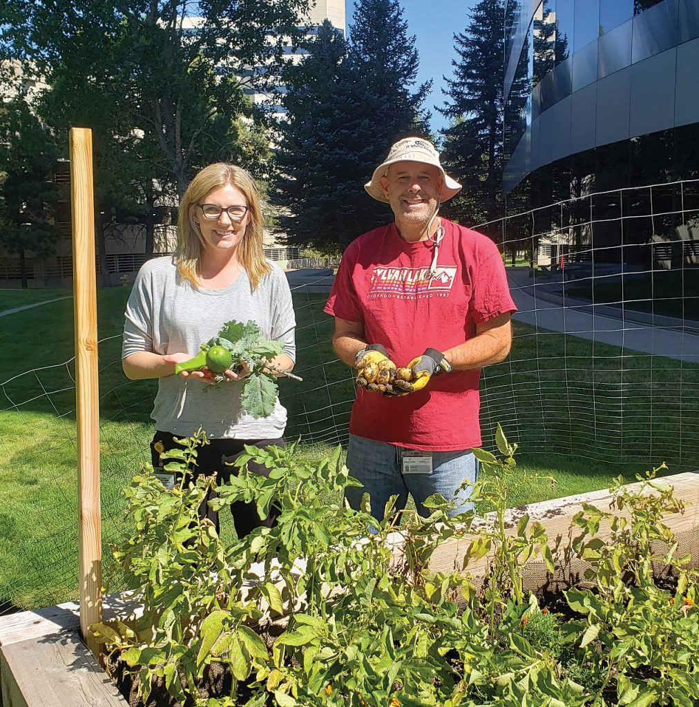 Empower Retirement's Community Garden
