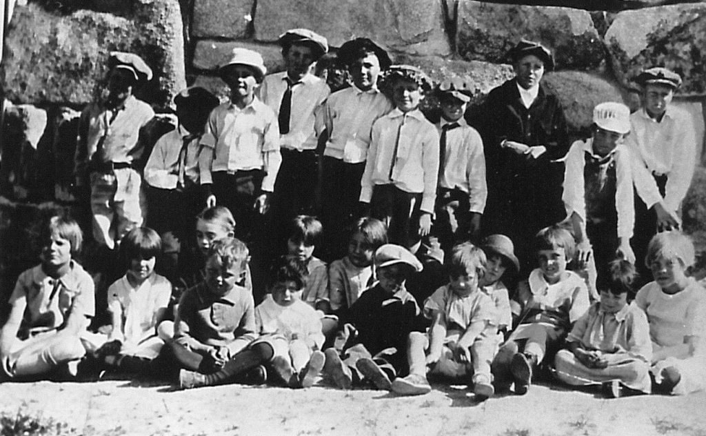 Curtis School class photo