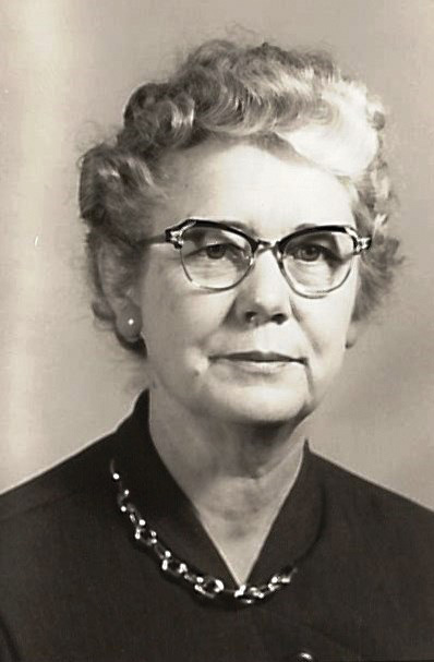 Mrs. Maude A. Hultz, 1940s Curtis School teacher