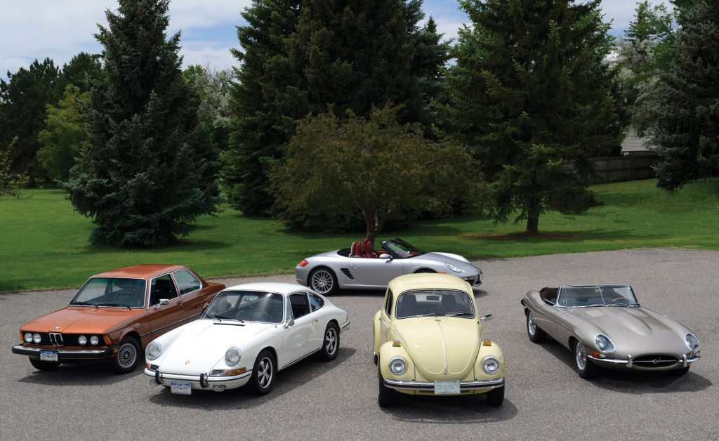 Bob Ottewill's car collection