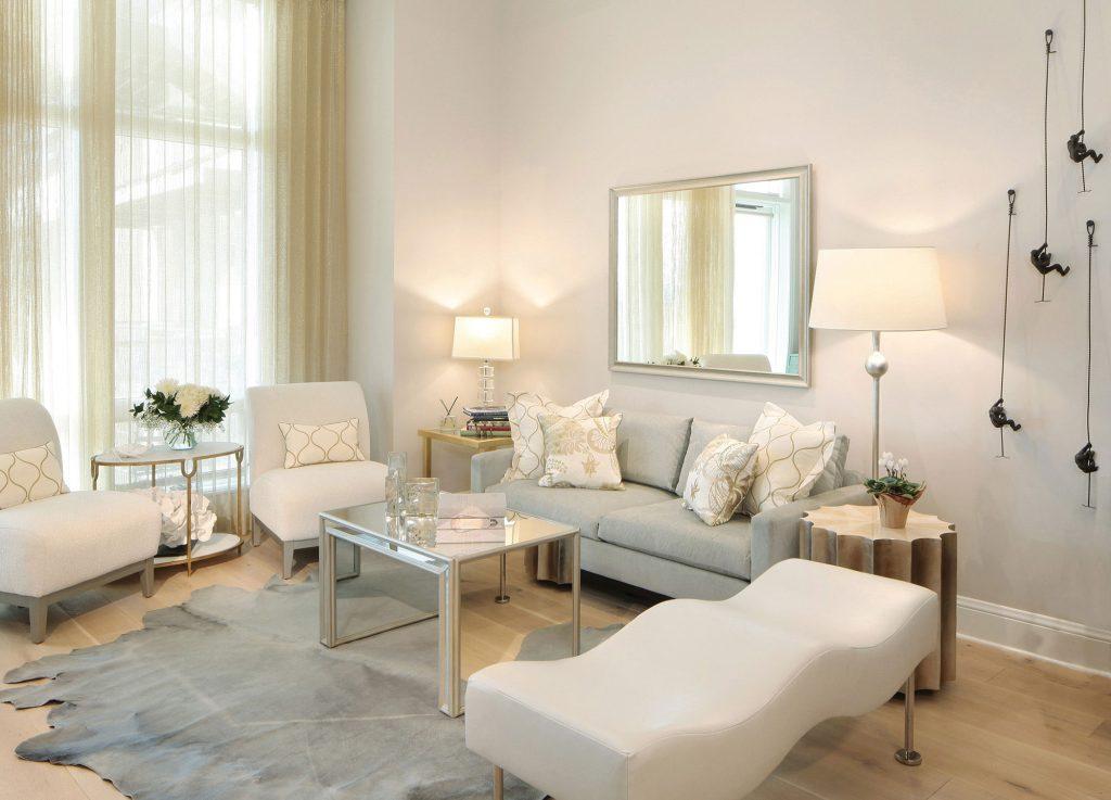 The Landmark penthouse living room
