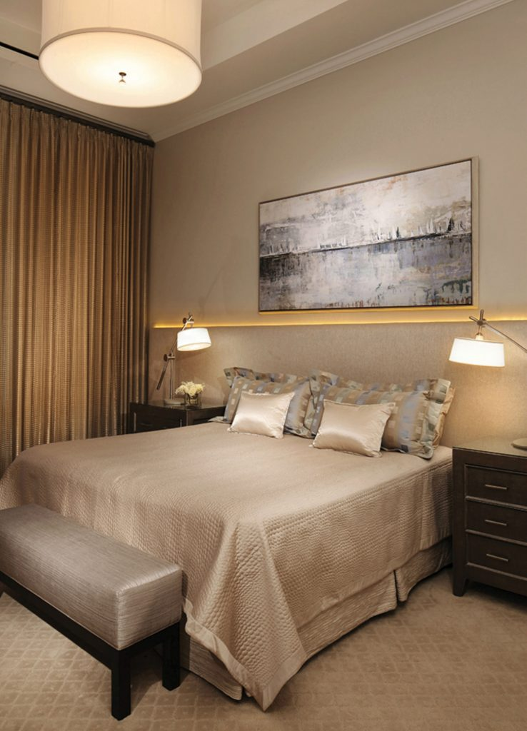 The Landmark master bedroom