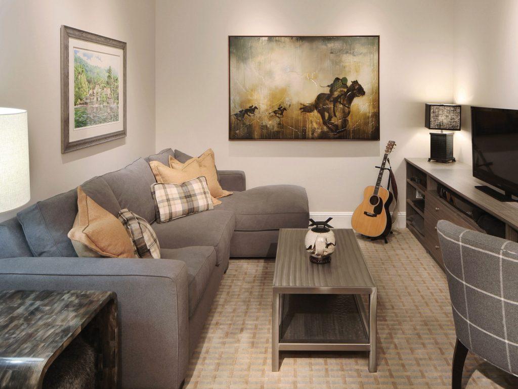 The Landmark penthouse study