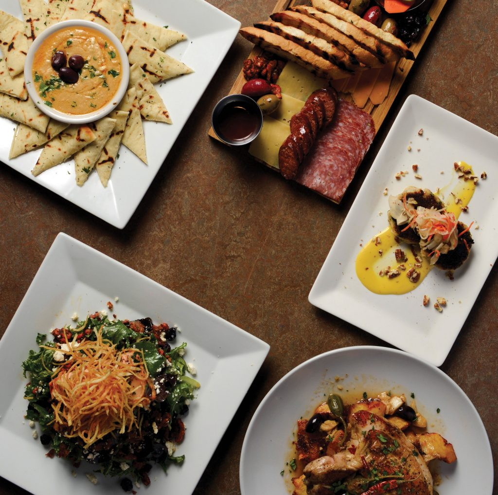 Yaya's Euro Bistro dishes