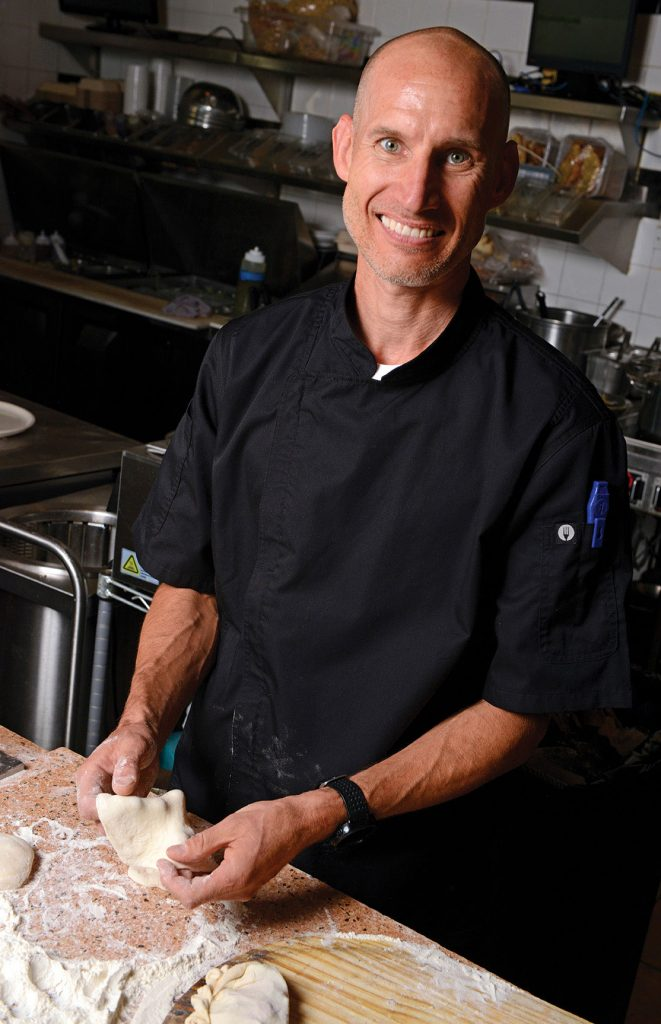 Mike Schock, head chef at Lone Tree's Via Baci Italian Bistro