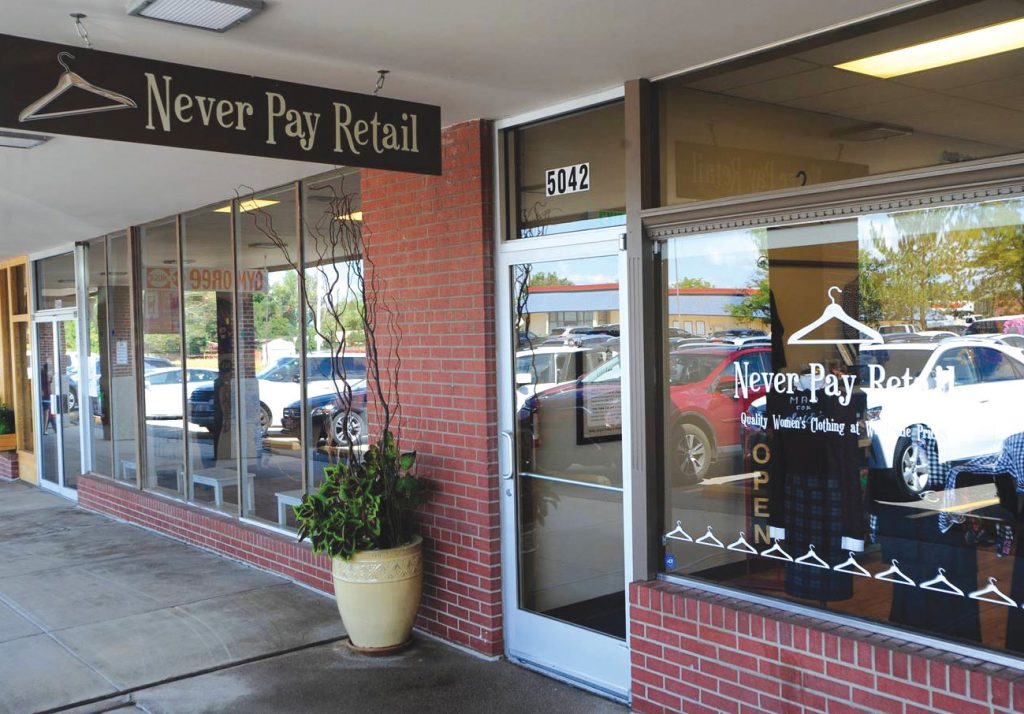 Never Pay Retail storefront