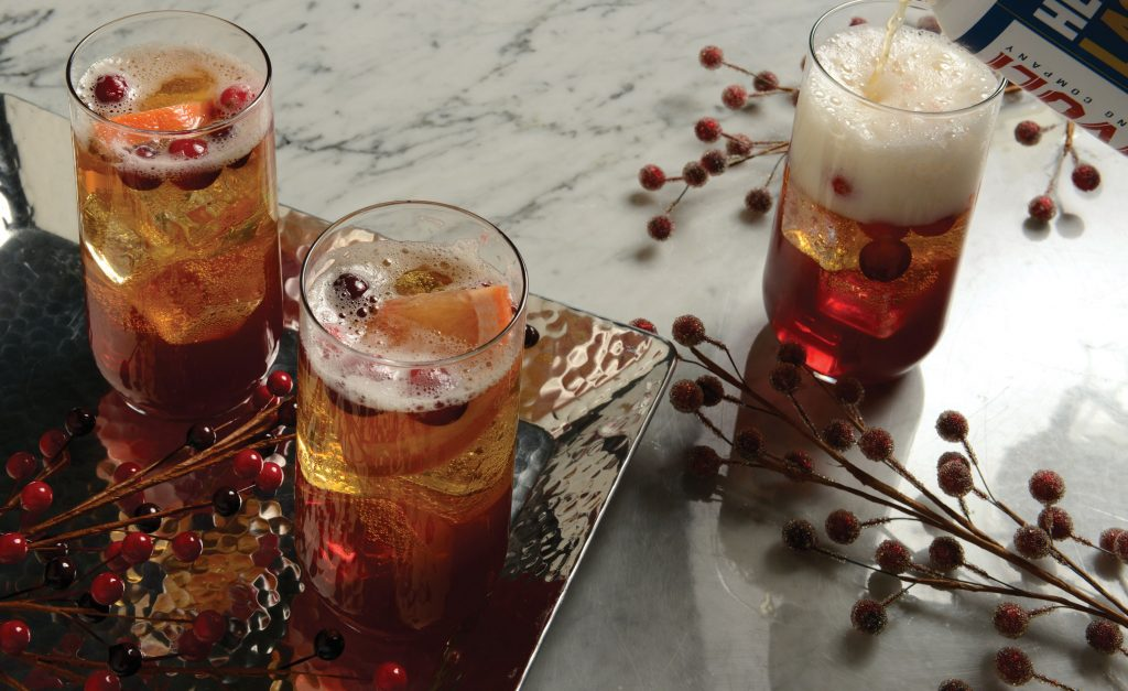Fall-Giving's Pimm's cup