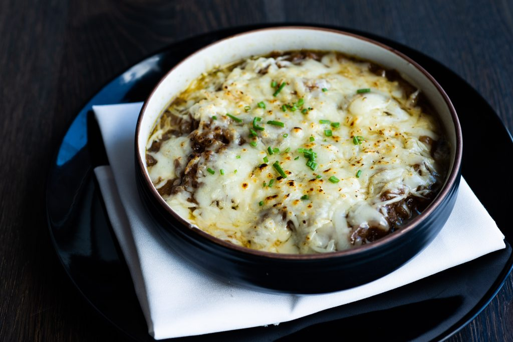 French Onion Soup at Le French