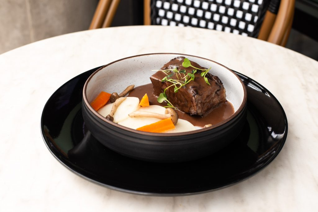 Le Boeuf Bourguignon at Le French