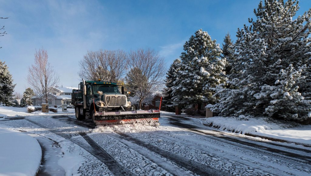 Greenwood Village snowplow