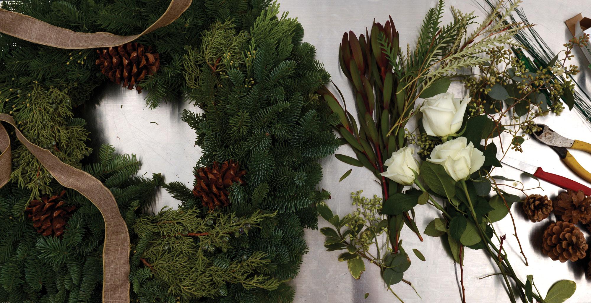 Arapahoe Floral wreath supplies