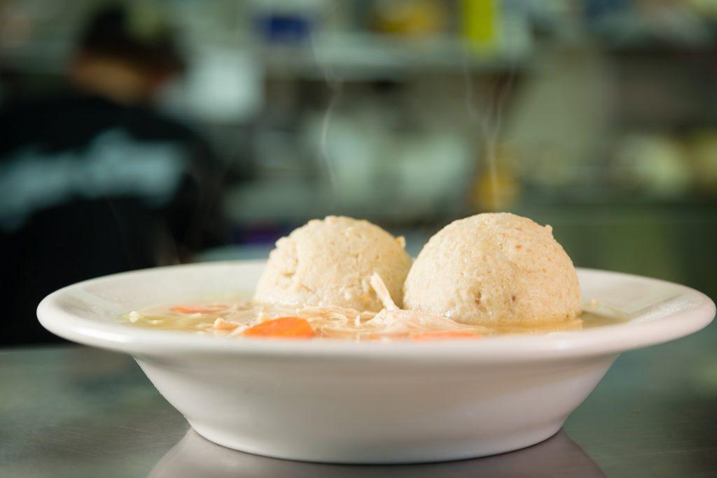 The Bagel Deli and Restaurant Matzo ball soup