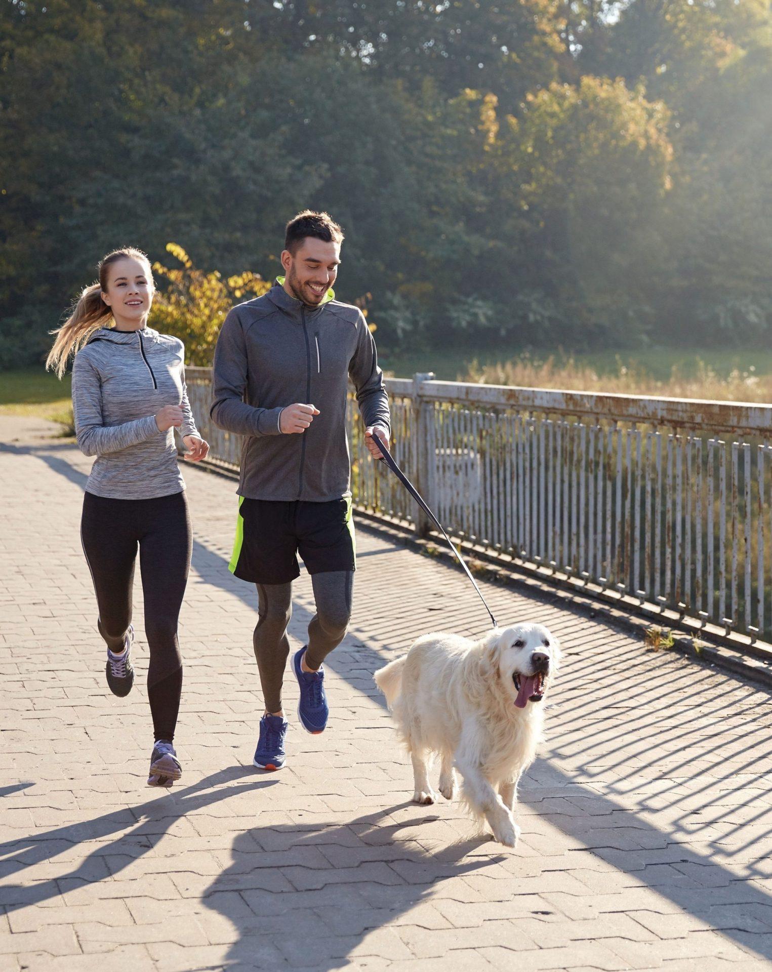 couple running