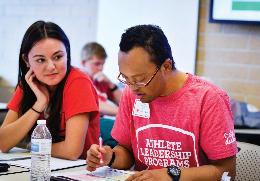 Special Olympics Colorado mentoring