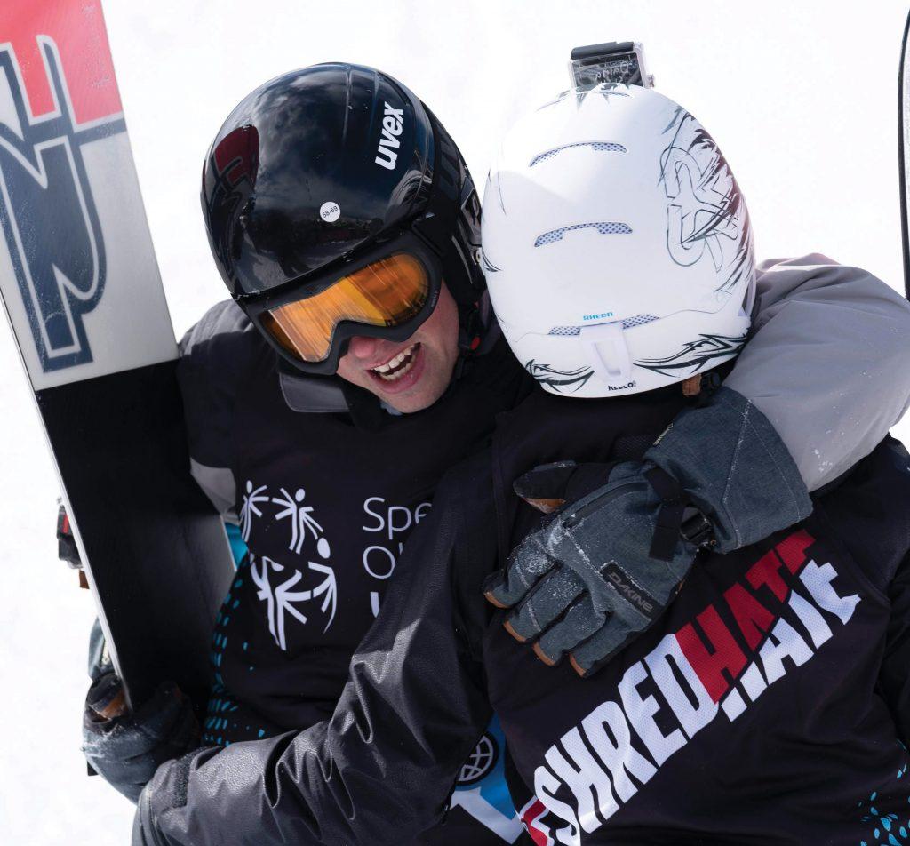 Special Olympics Colorado skiing