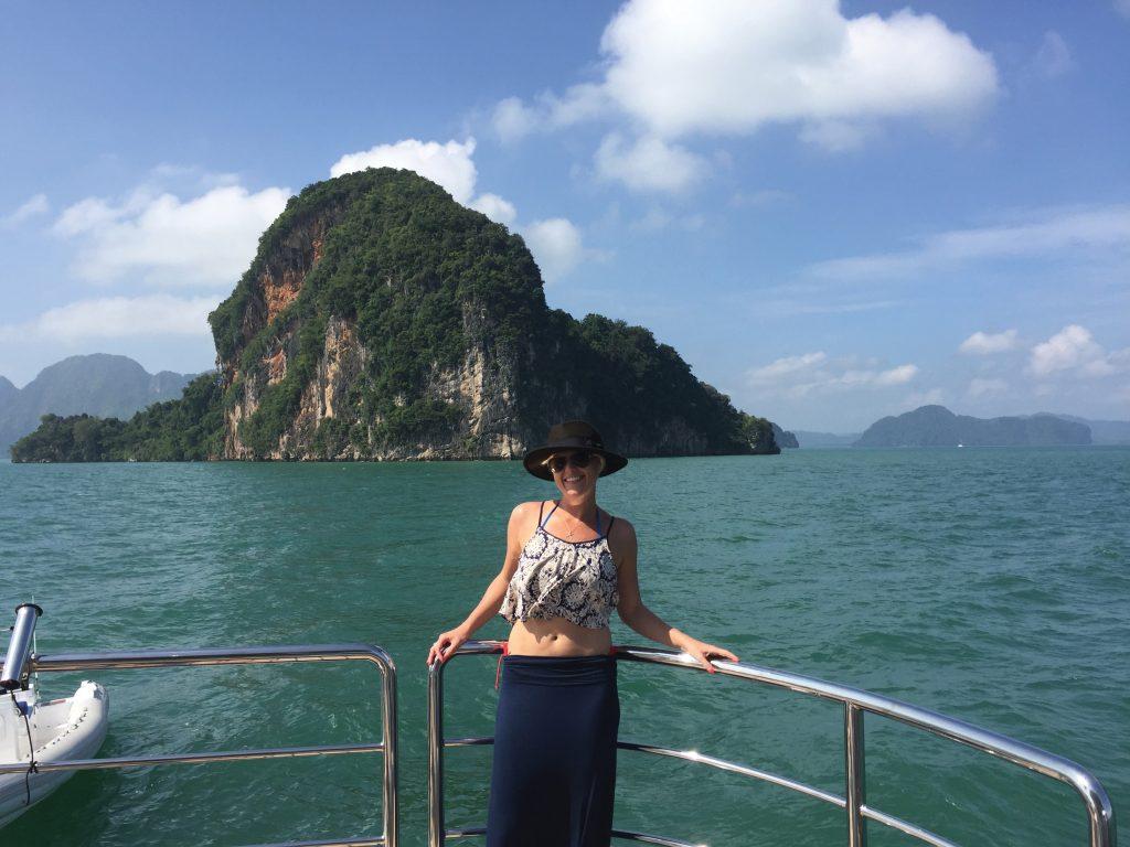 Sara Haffenden in Thailand