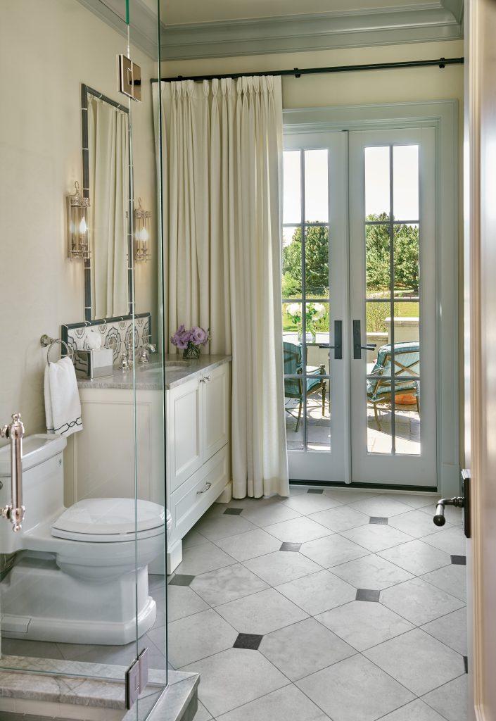 Cherry Hills Village master bathroom
