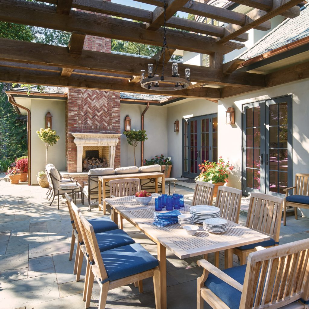 Cherry Hills Village home patio