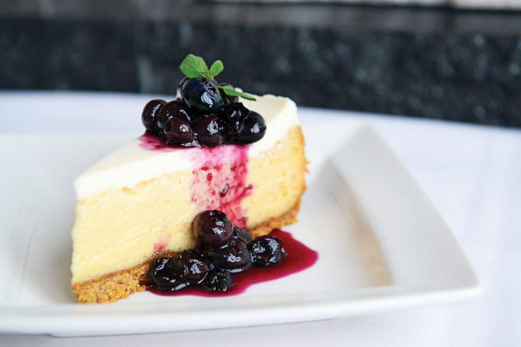 Shanahan's Colorado Clover Honey Cheesecake