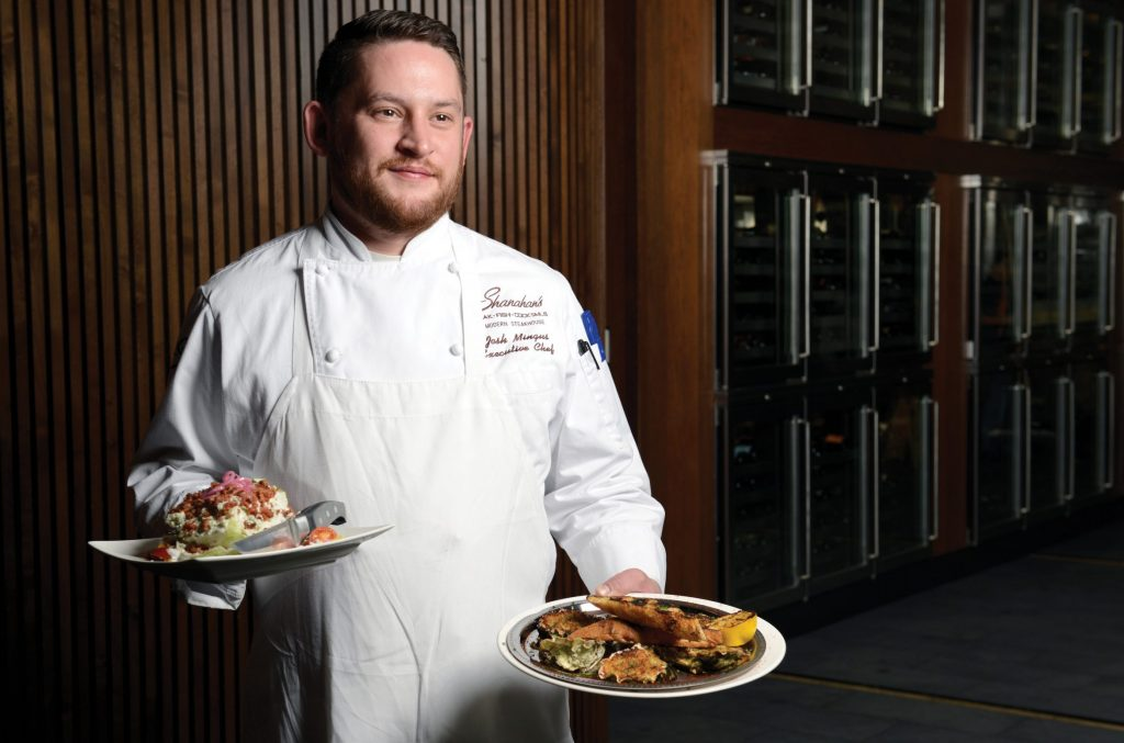 Josh Mingus, Shanahan's executive chef