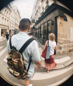 Caleb Tillapaugh in Paris