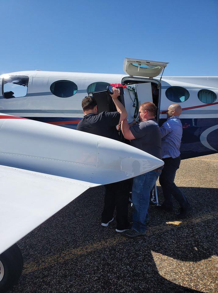 Project C.U.R.E. drive plane