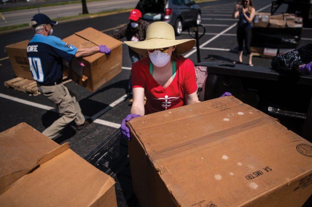 Project C.U.R.E. drive boxes