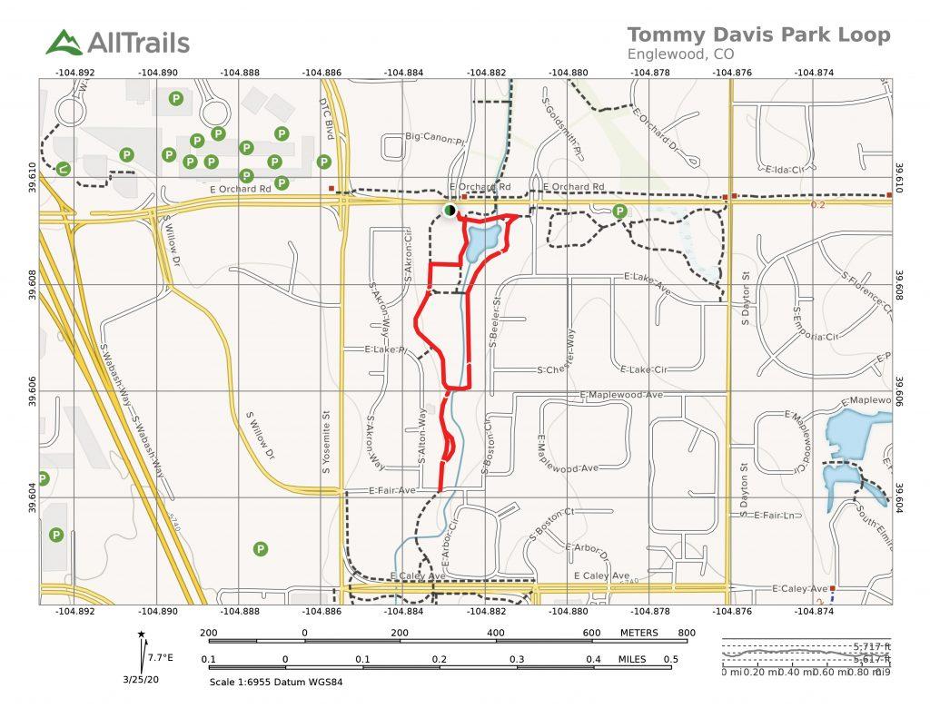 Tommy Davis Park Loop