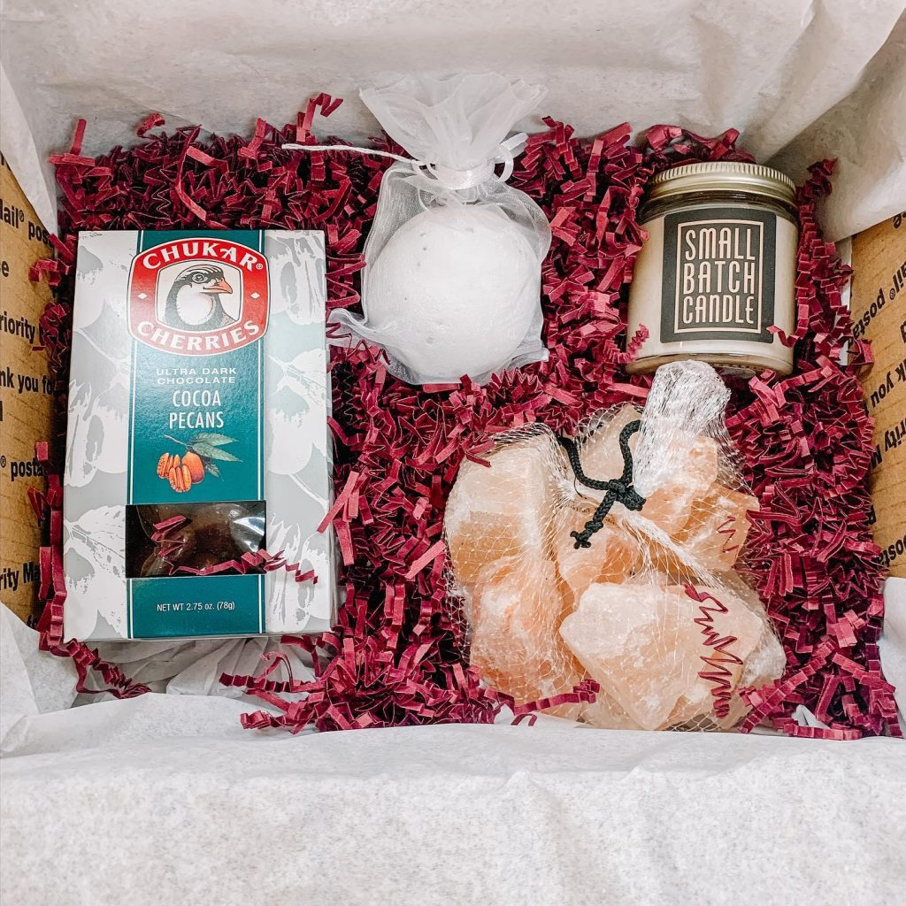 Curate Mercantile care package