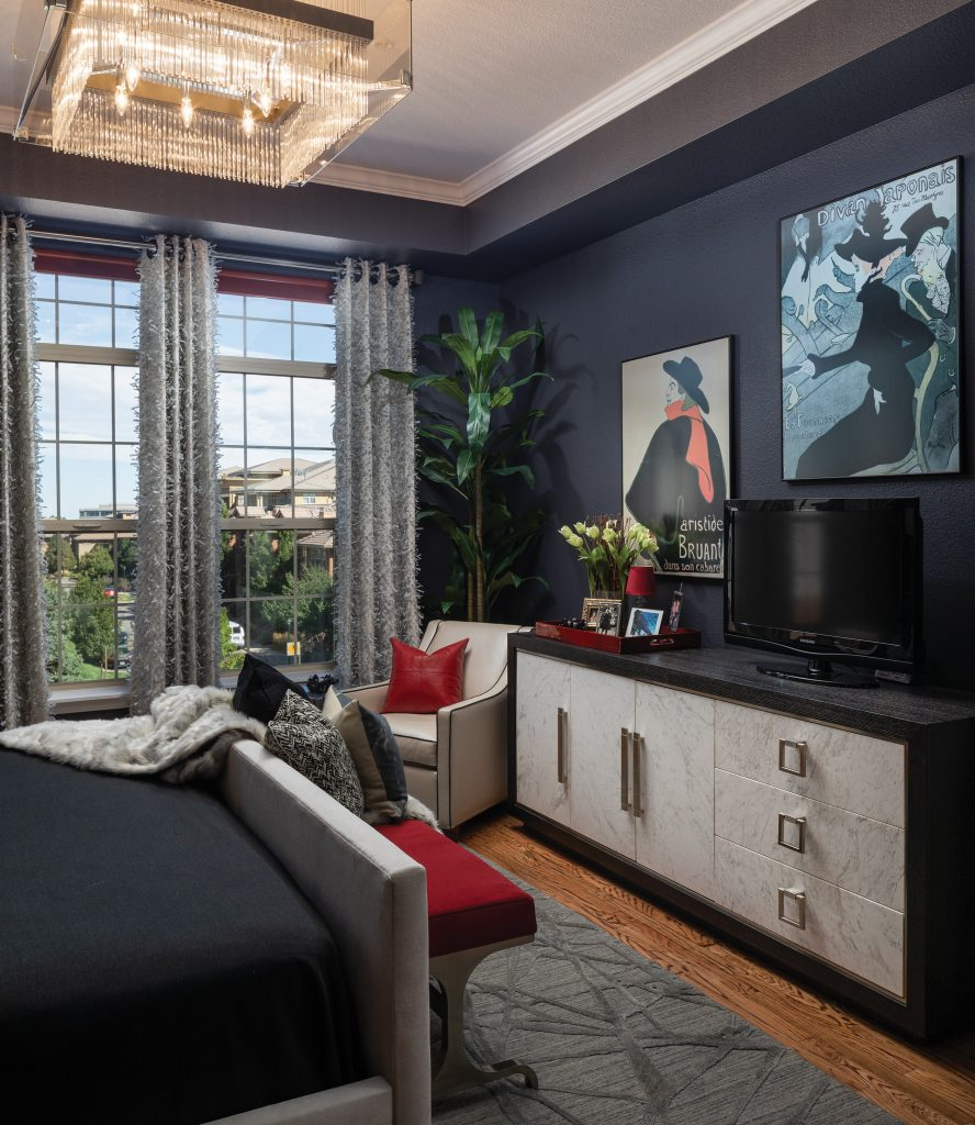 D'Amore Interiors bedroom details