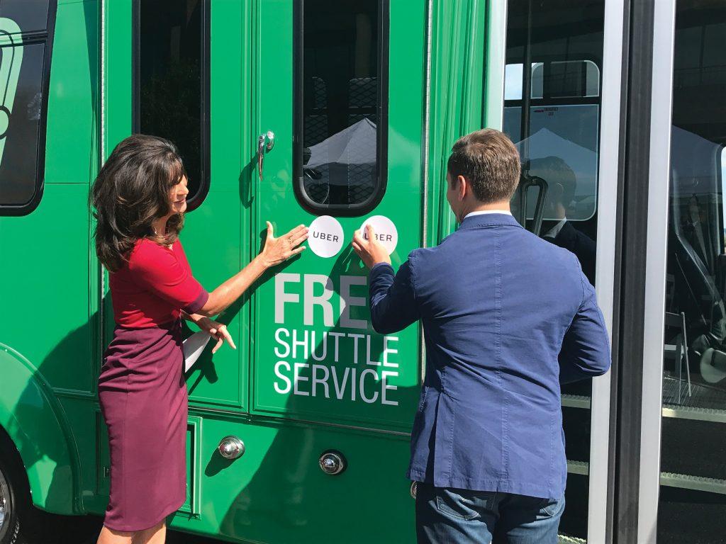 Jackie Millet shuttle service