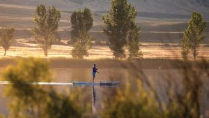 Paddleboarding Chatfield State Park