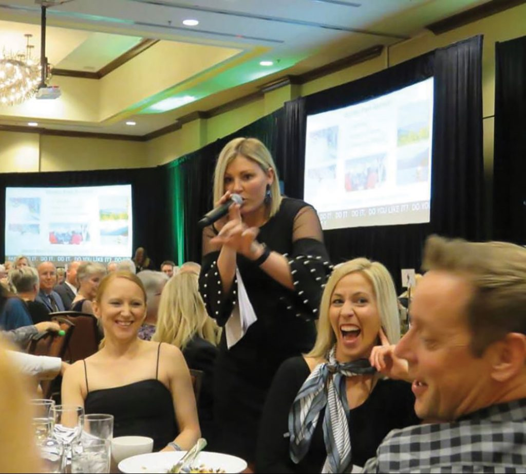 Halie Behr auctioneer