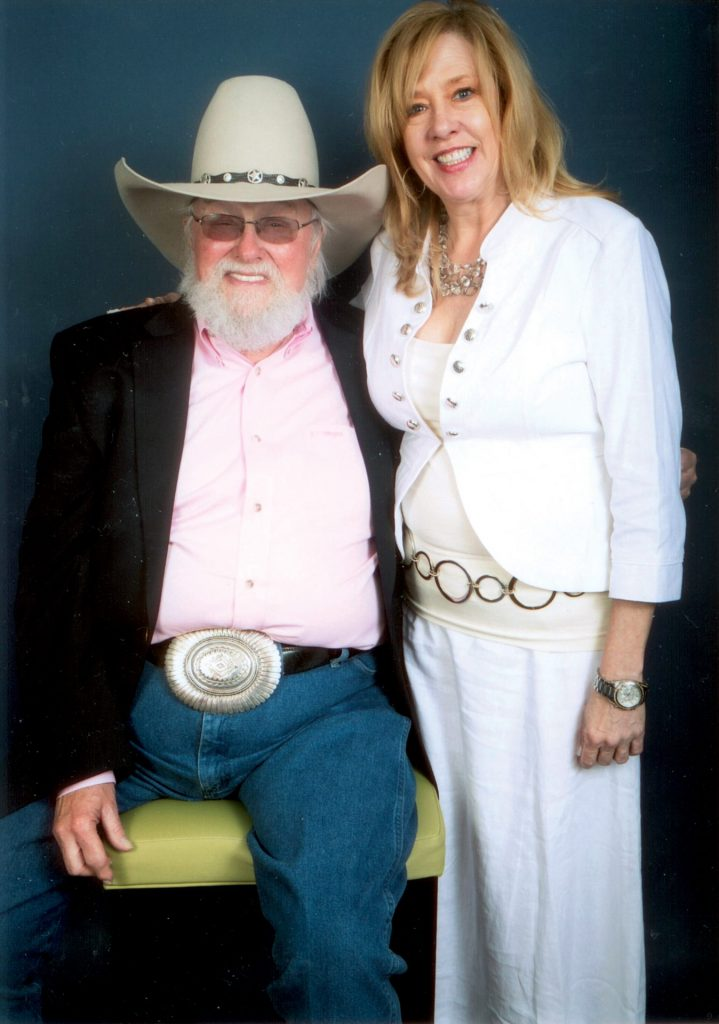 Shelly St John and Charlie Daniels
