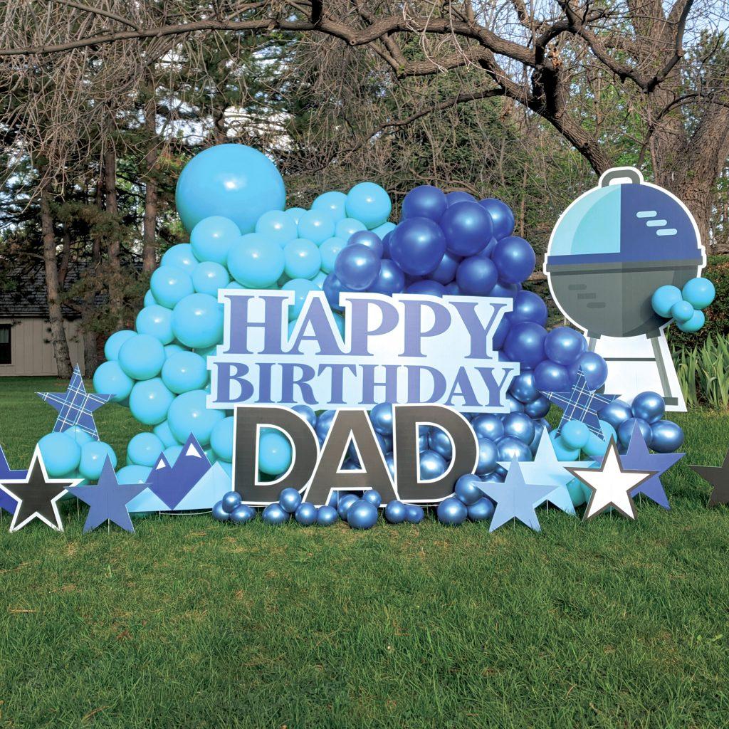 Sidewalk Celebration birthday