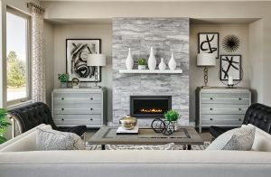 Oneida fireplace